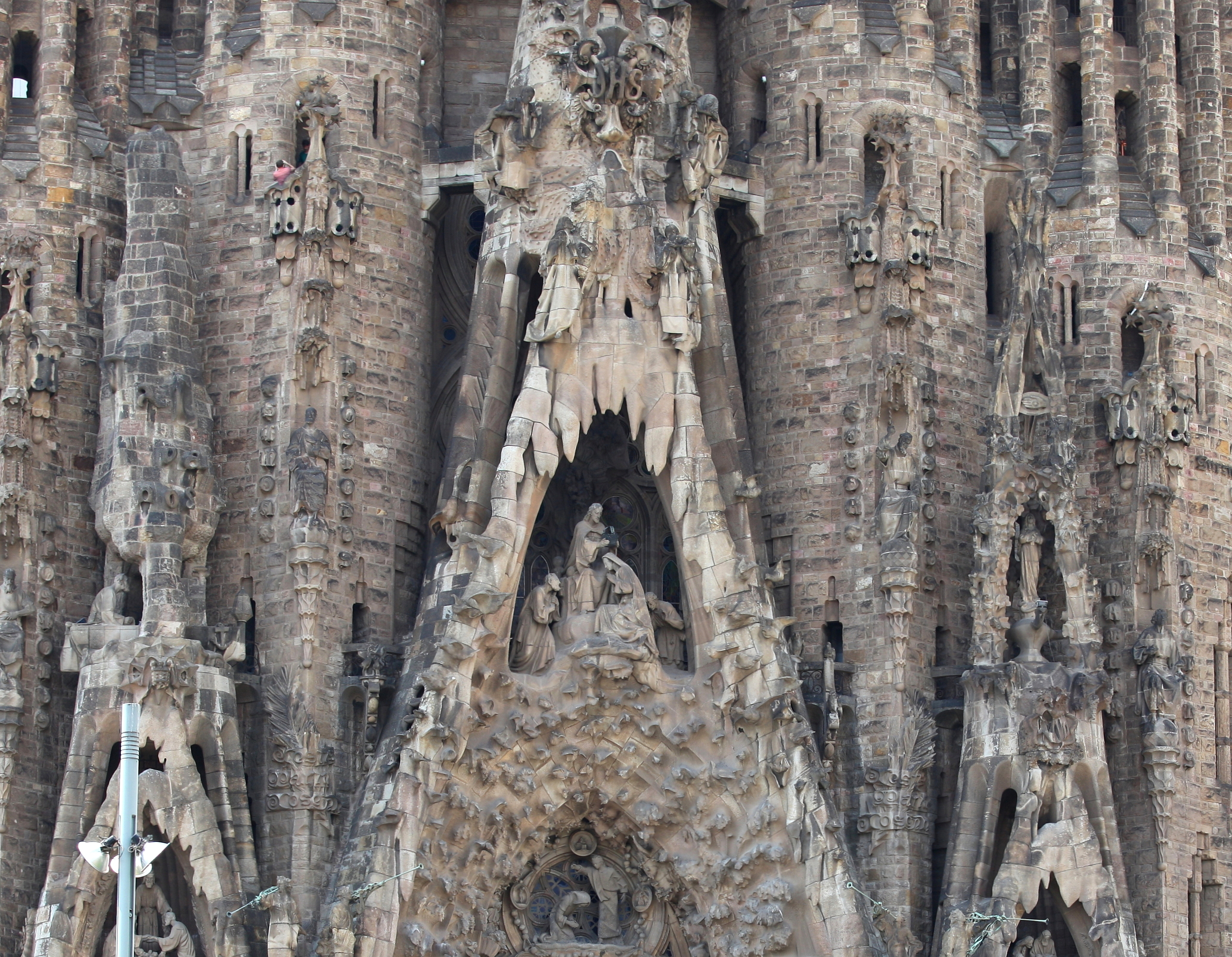Sagrada Familia church, Barcelona, Spain, Europe, August 2013, picture 56