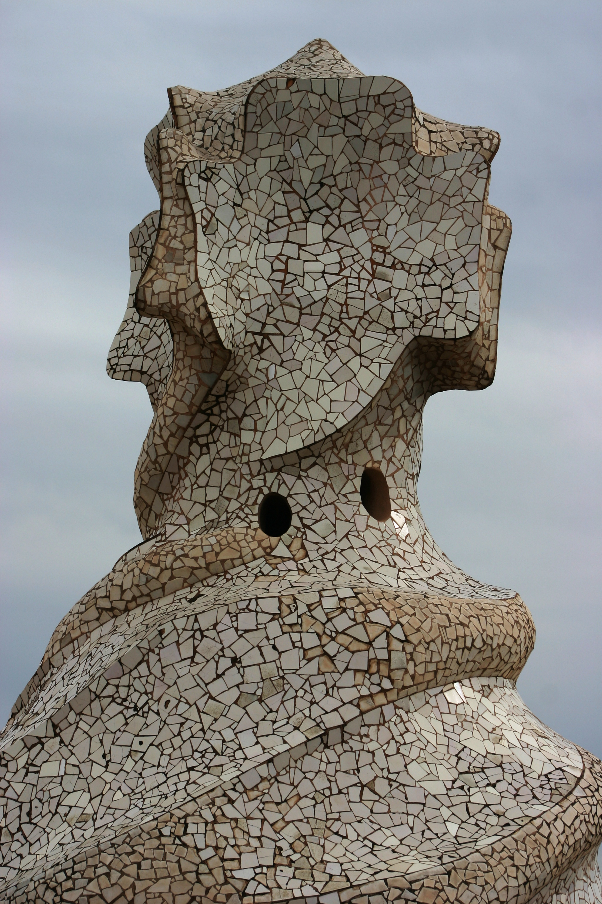 Chimney - Roof of Casa Milà - Barcelona 2014 (3)