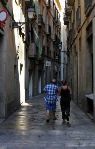 a street in Barcelona, Spain, Europe, August 2013, picture 28