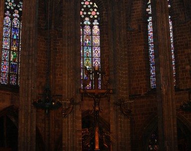 a church in Barcelona, Spain, Europe, August 2013, picture 41