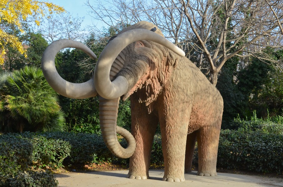 Barcelona - Mammoth sculpture