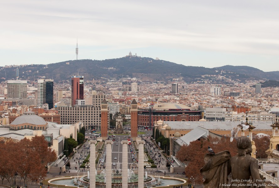 Barcelona in January 2016, picture 1