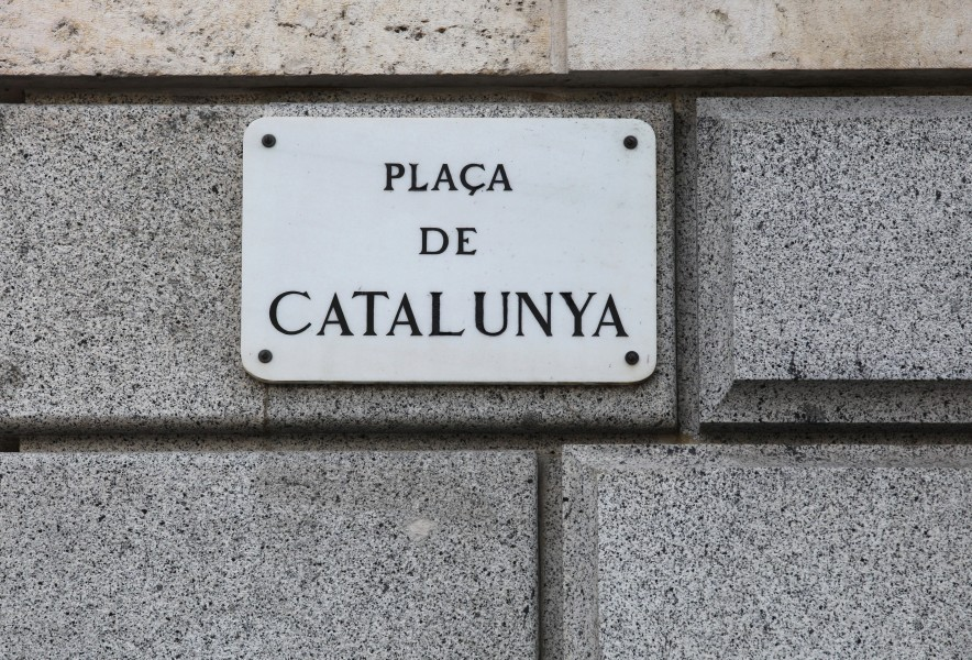 Placa de Catalunya, Barcelona, Spain, Europe, August 2013, picture 45