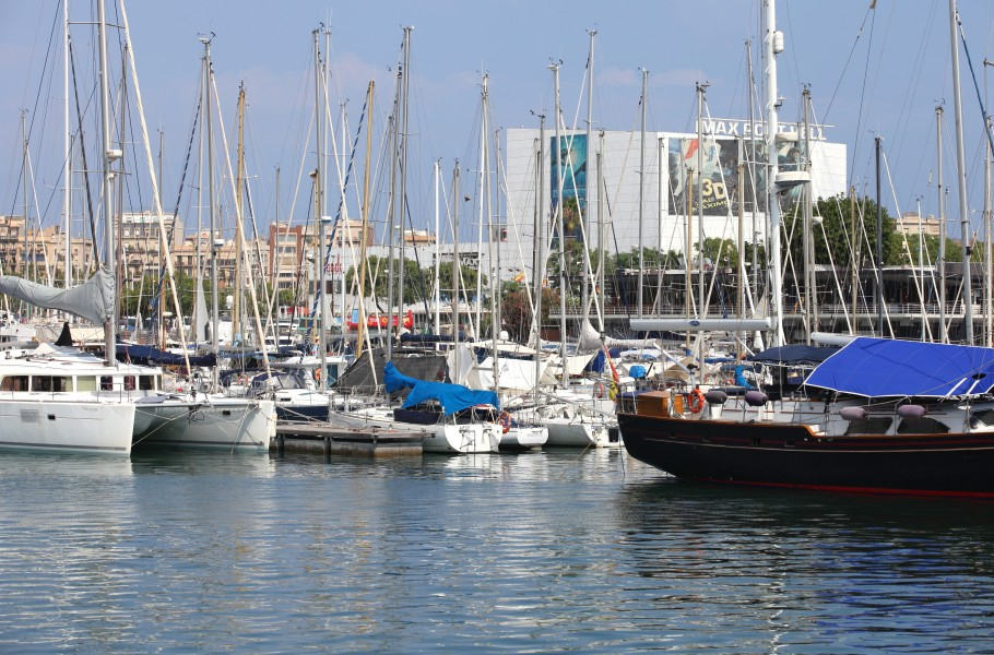 boats in Barcelona, Spain, Europe, August 2013, picture 63