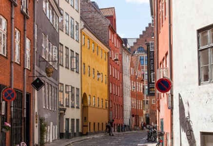 a street in Copenhagen, Denmark, June 2014, picture 21