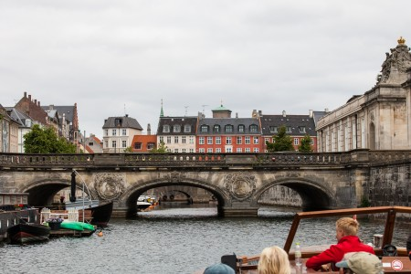 a canal tour in Copenhagen, Denmark, June 2014, picture 84