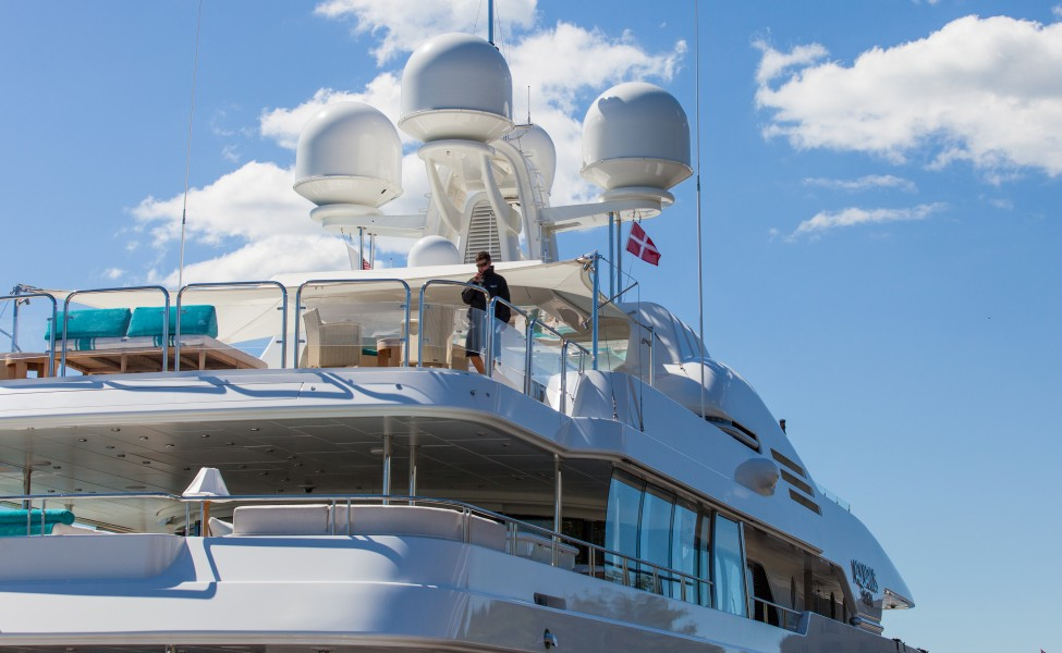 a yacht in Copenhagen, Denmark, June 2014, picture 6