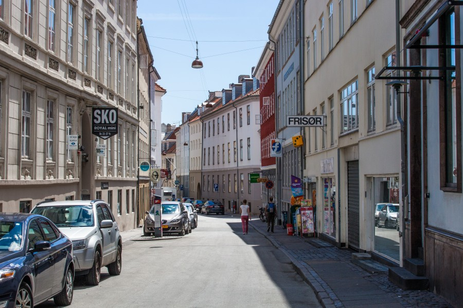 a street in Copenhagen, Denmark, June 2014, picture 18