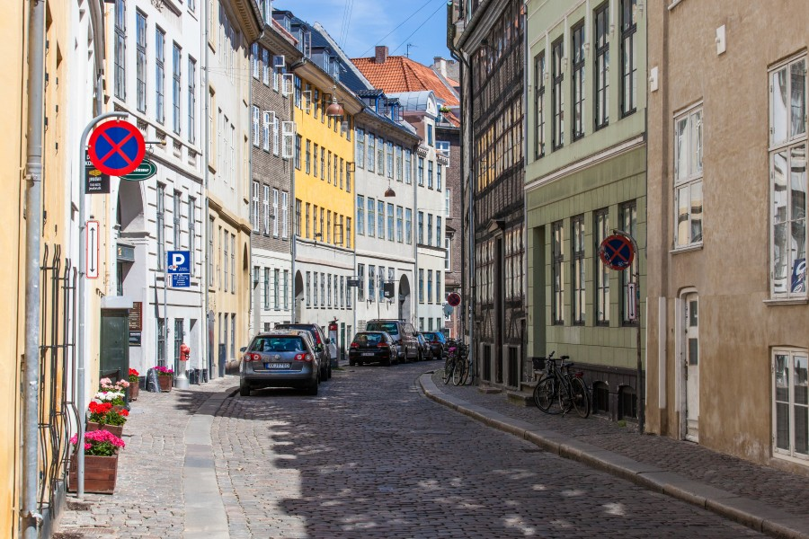 a street in Copenhagen, Denmark, June 2014, picture 20