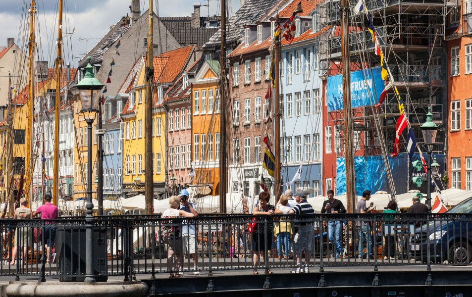 Nyhavn (New Haven), Copenhagen, Denmark, June 2014, picture 25