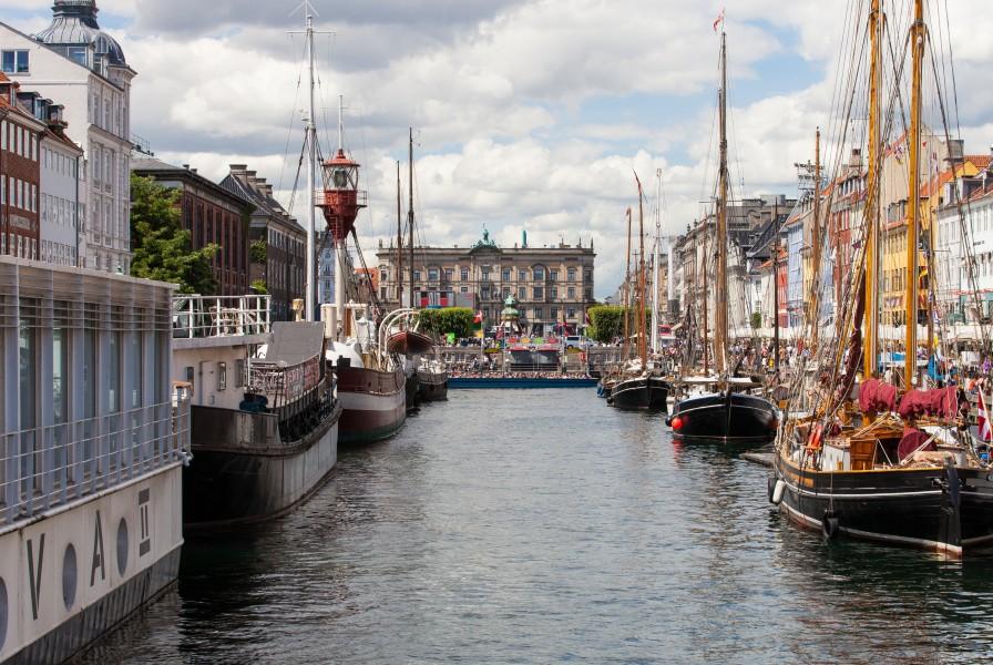 Nyhavn (New Haven), Copenhagen, Denmark, June 2014, picture 27