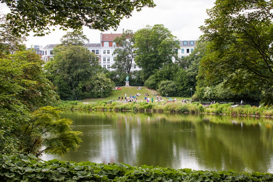 a park in Copenhagen, Denmark, June 2014, picture 40