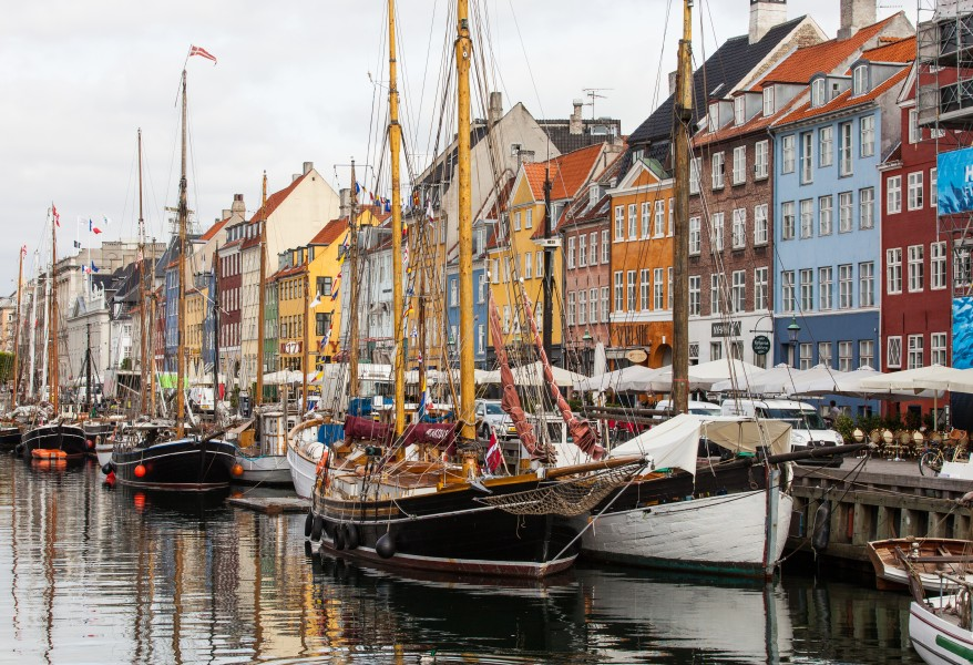 Nyhavn (New Haven), Copenhagen, Denmark, June 2014, picture 60