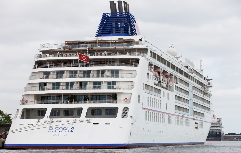 the Europa 2 cruise ship in Copenhagen, Denmark, June 2014, picture 64