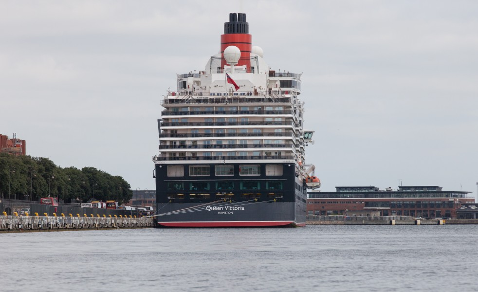 the Queen Victoria (QV) ship, Copenhagen, Denmark, June 2014, picture 66