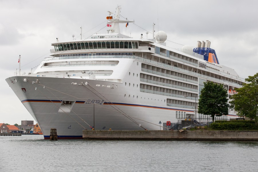 the MS Europa 2 cruise ship, Copenhagen, Denmark, June 2014, picture 68