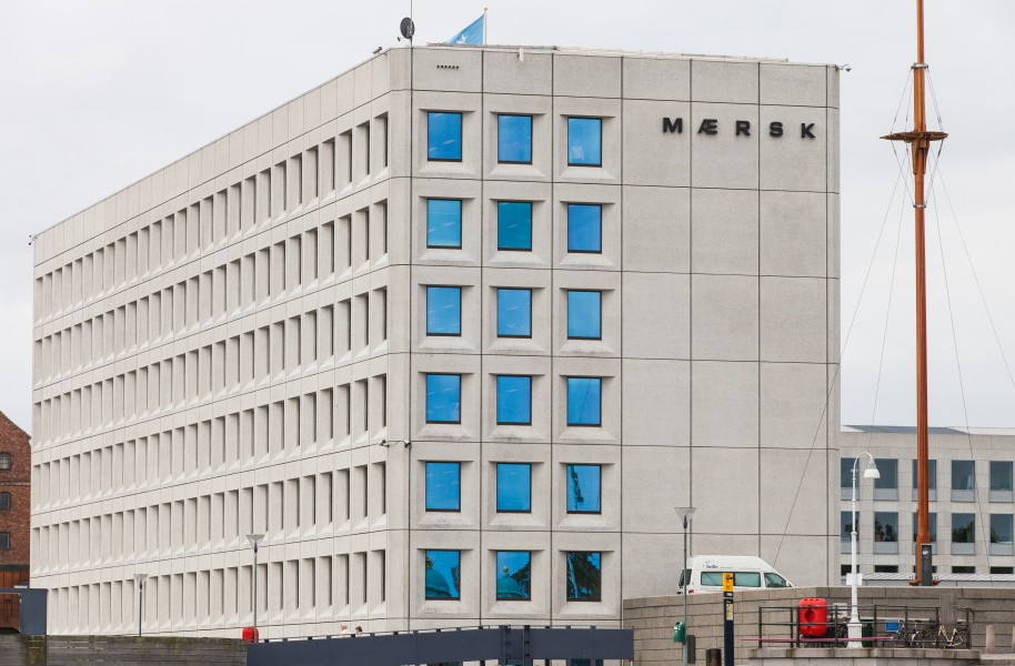 Maersk office in Copenhagen, Denmark, June 2014, picture 70