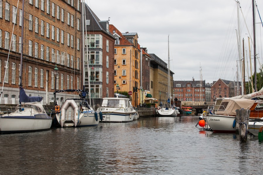 a canal in Copenhagen, Denmark, June 2014, picture 78