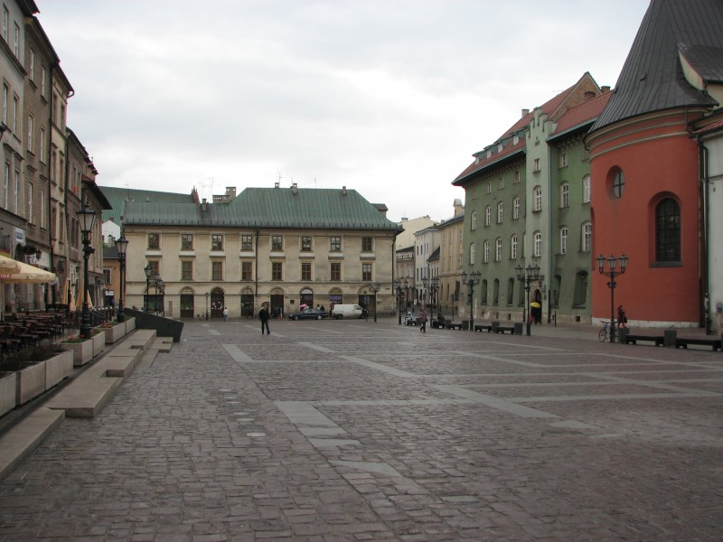 Cracow on a rainy day, Poland, picture 2