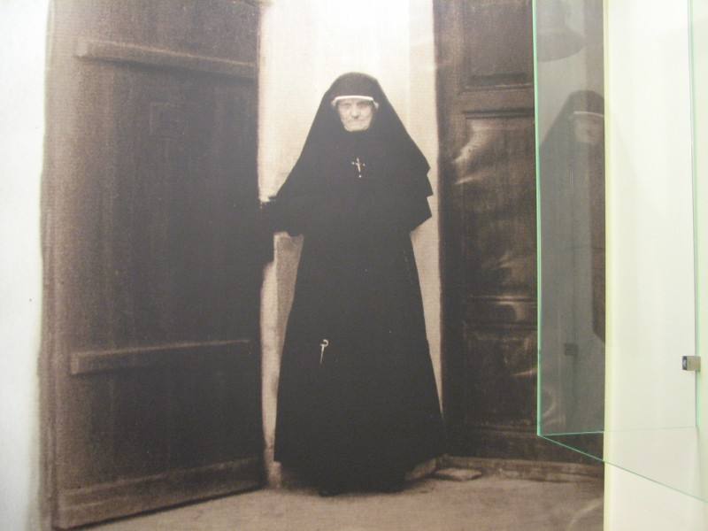 Picture of a nun in Lagiewniki, Cracow, Poland, picture 3