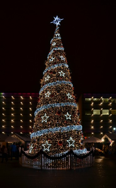 Cracow (Kraków) - Christmas tree