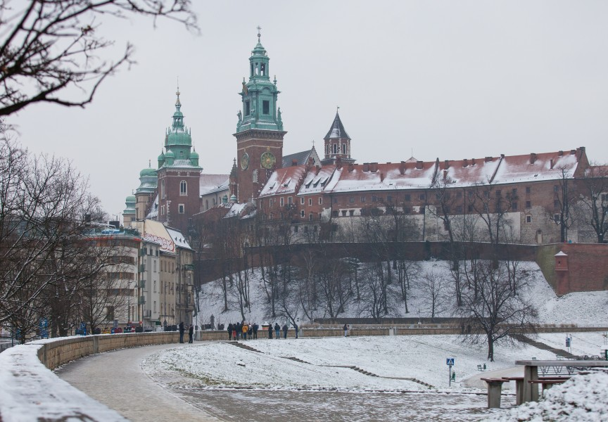 Cracow (Kraków), Poland, photographed in December 2014, picture 3