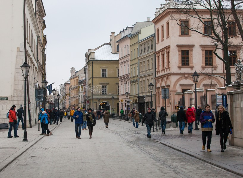 Cracow (Kraków), Poland, photographed in December 2014, picture 11