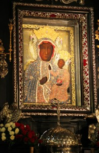 the Black Madonna holy icon in Czestochowa, taken in August 2013, Poland, EU, picture 3/21