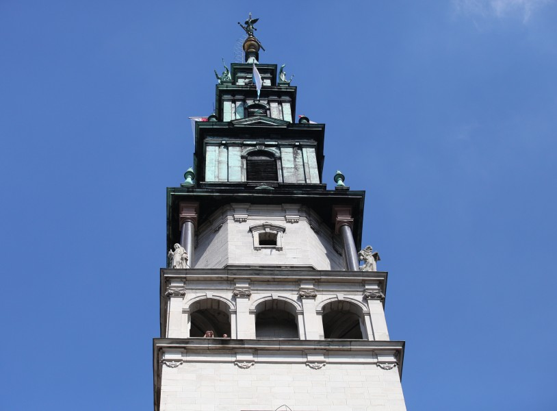 a tower in Czestochowa shrine in August 2013, Poland, EU, picture 1/21