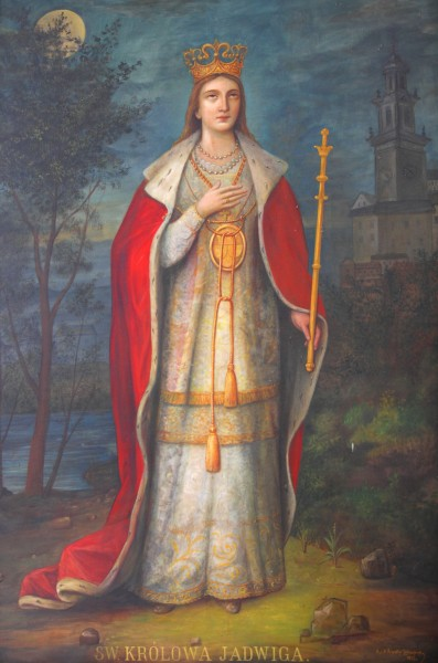 a painting in Czestochowa sanctuary in August 2013, Poland, EU, picture 10/21