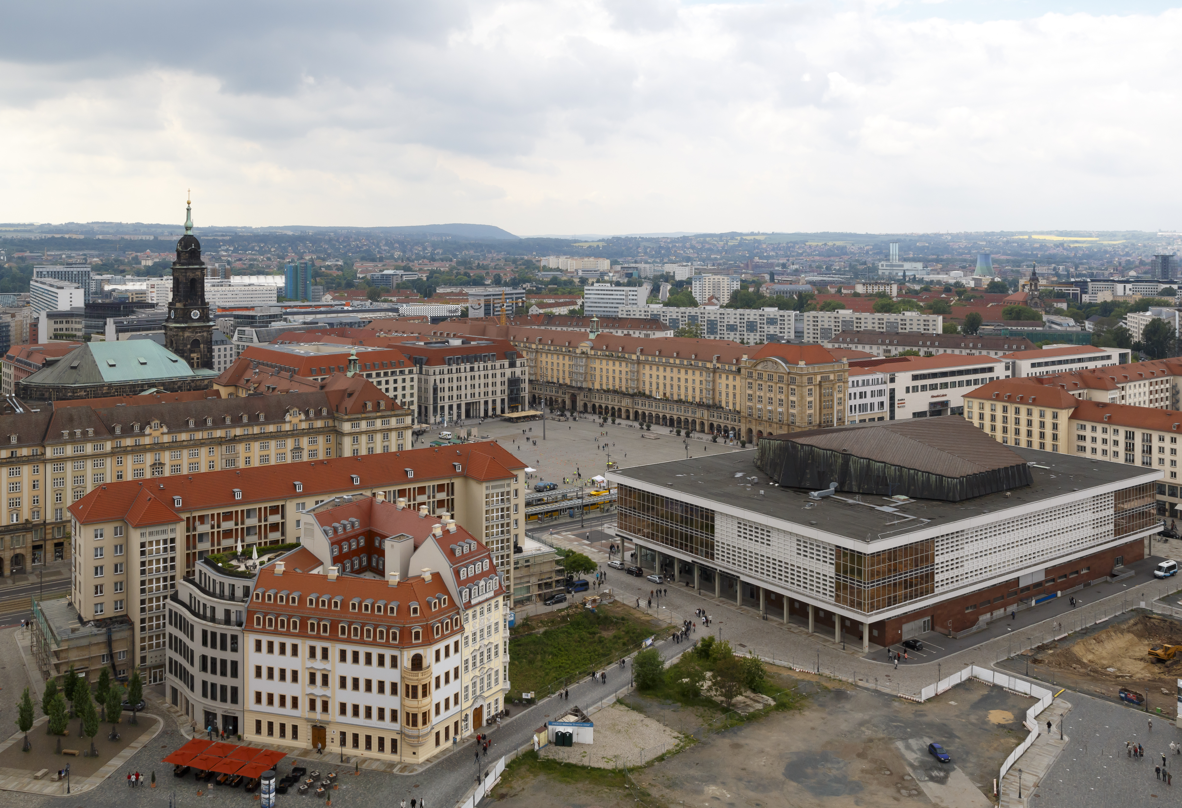 Dresden Germany City-views-from-tower-of-Frauenkirche-03