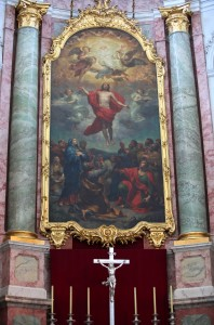a Christian painting in Dresden, Germany, Europe, August 2013, picture 16