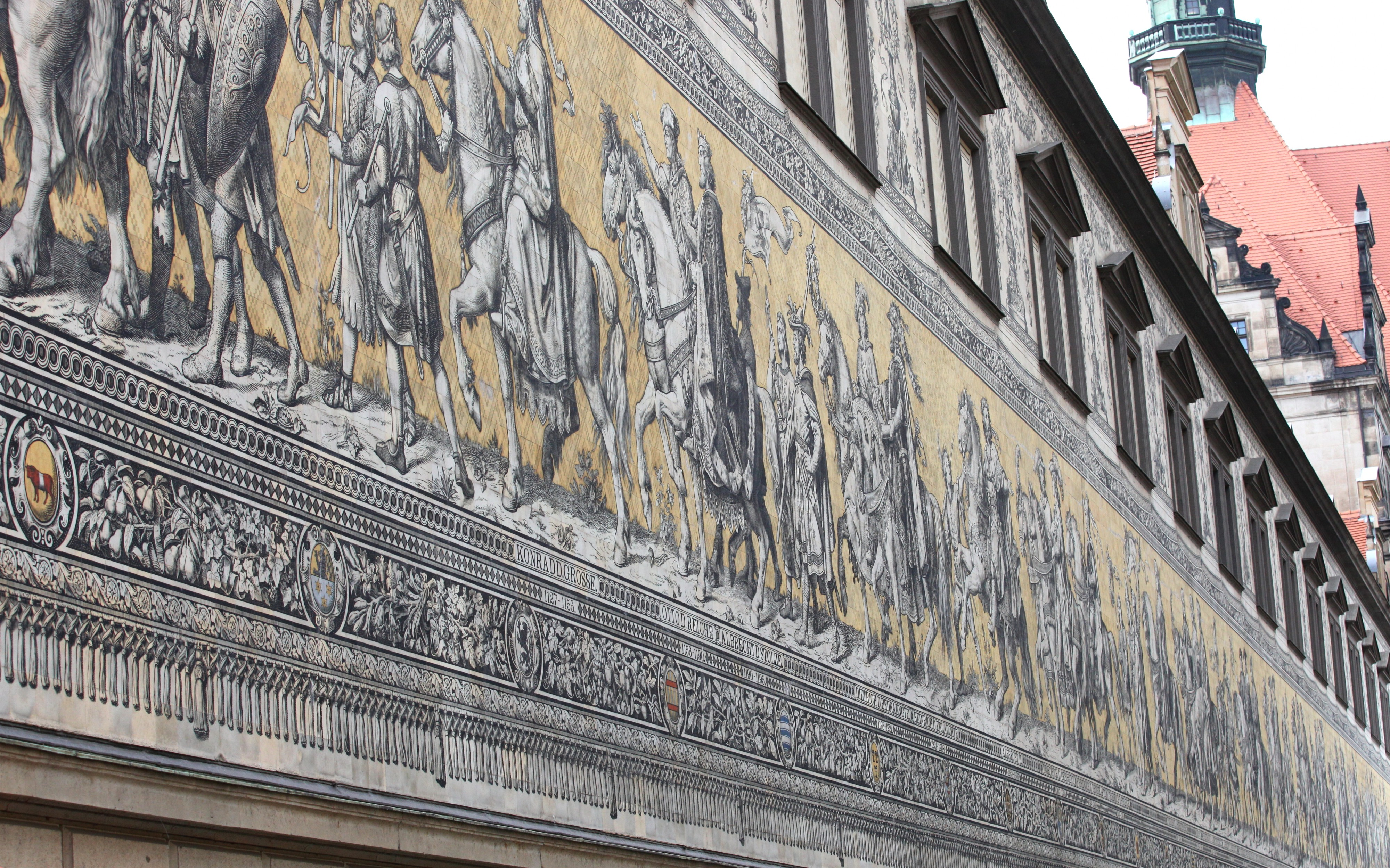 a mural in Dresden, Germany, Europe, August 2013, picture 42