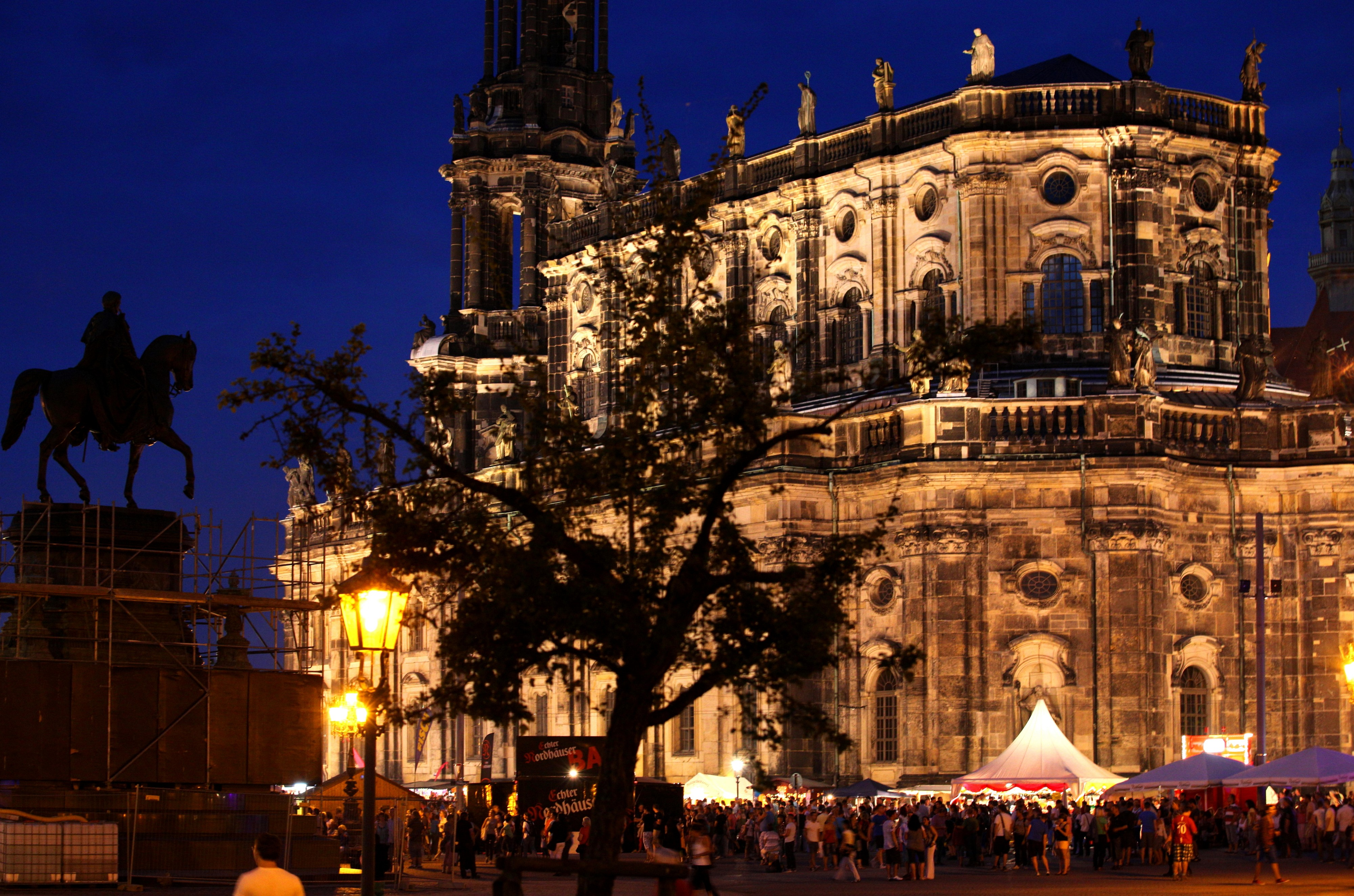Dresden in the evening, Germany, Europe, August 2013, picture 65