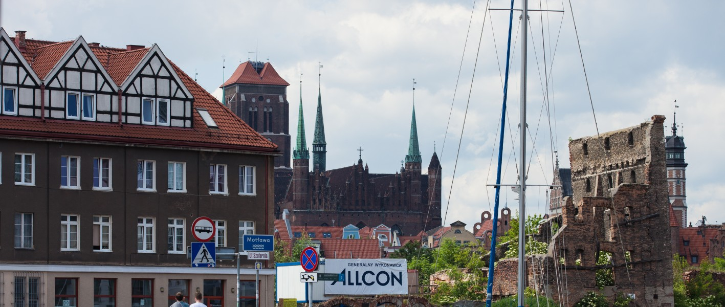 Gdansk city, Poland, June 2014, picture 2