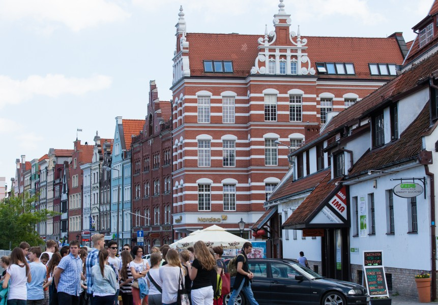 Gdansk city, Poland, June 2014, picture 8