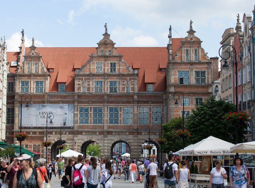 Gdansk city, Poland, June 2014, picture 11