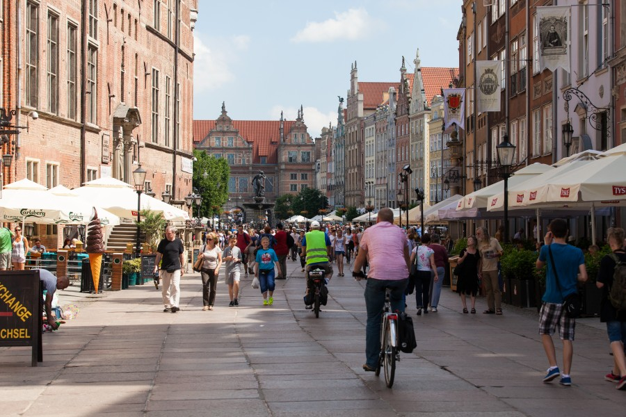 Gdansk city, Poland, June 2014, picture 15