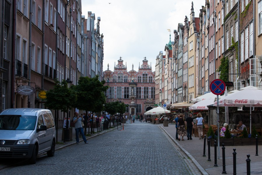 Gdansk city, Poland, June 2014, picture 18