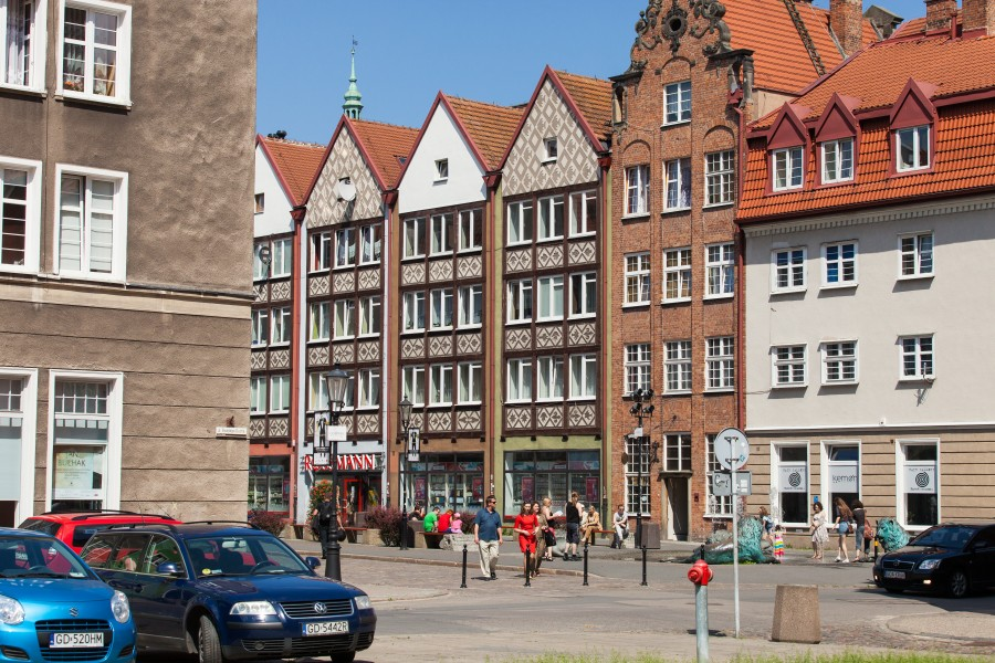 Gdansk city, Poland, June 2014, picture 22