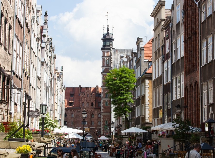 Gdansk city, Poland, June 2014, picture 23