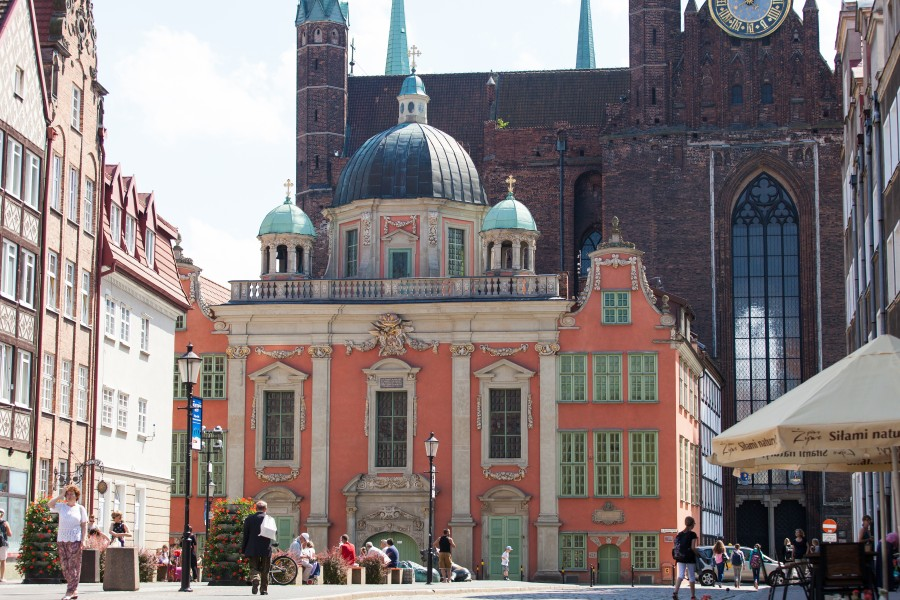 Gdansk city, Poland, June 2014, picture 30