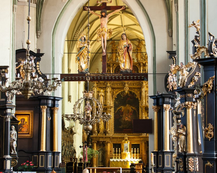 inside a church in Gdansk city, Poland, June 2014, picture 35