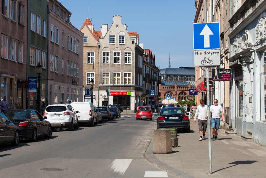 Gdansk city, Poland, June 2014, picture 37