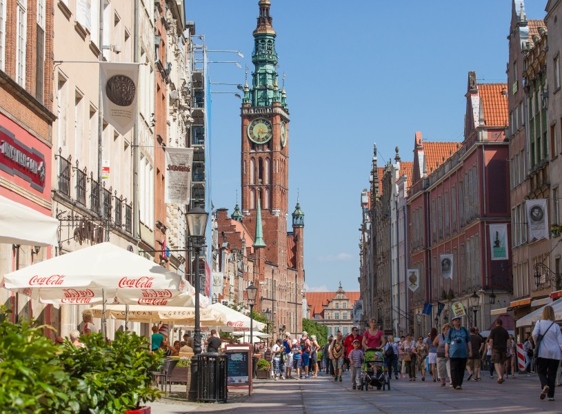Gdansk city, Poland, June 2014, picture 43