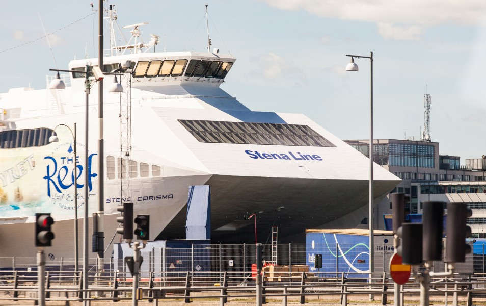 Stena Carisma ferry in Gothenburg, Sweden, June 2014, picture 14