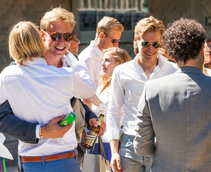 handsome blond men in Gothenburg, Sweden, June 2014, picture 16