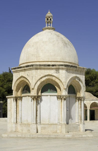 Dome of the Ascension on the Temple Mount (Jerusalem, 2008)