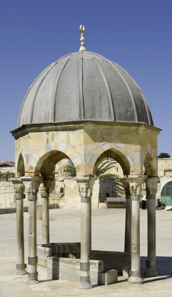 Dome of the Prophet (Temple Mount, 2008)
