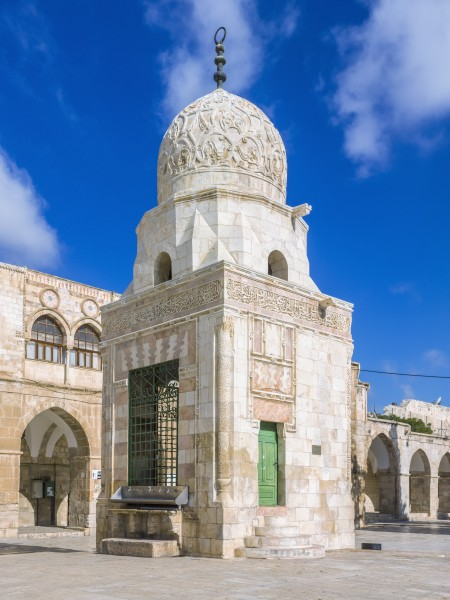 ISR-2015-Jerusalem-Temple Mount-Fountain of Qayt Bay